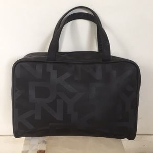 DKNY black fabric bag